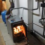 Дровяное отопление дома